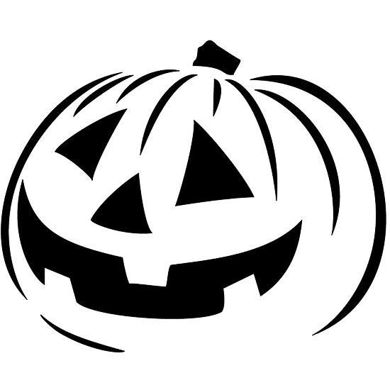 Шаблоны для тыквы на Хэллоуин