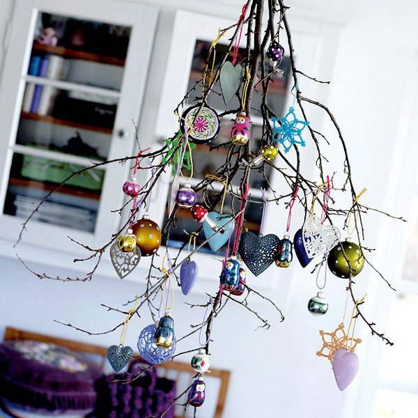 украшаем квартиру к новому году