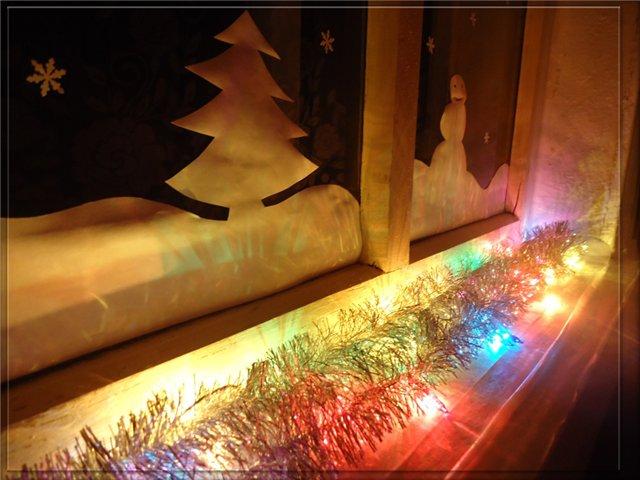 украсить дом на новый год