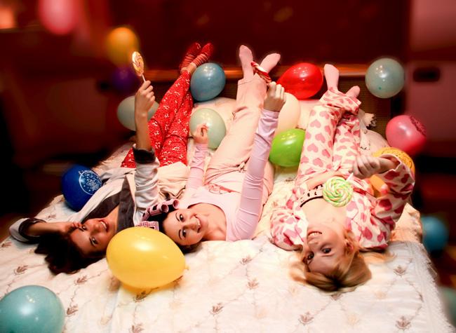 как провести пижамную вечеринку