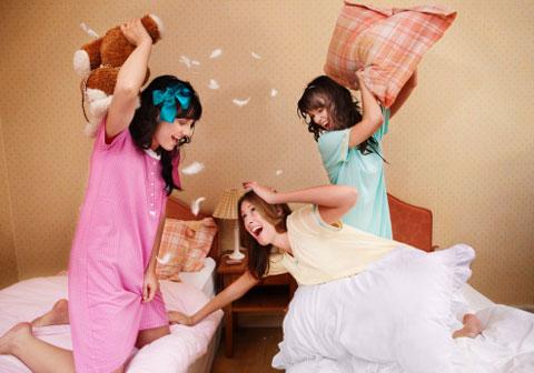 как проводить пижамную вечеринку
