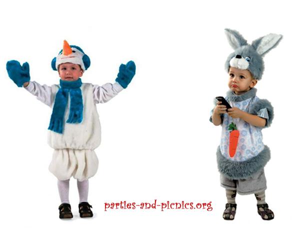 детские новогодние костюмы фото