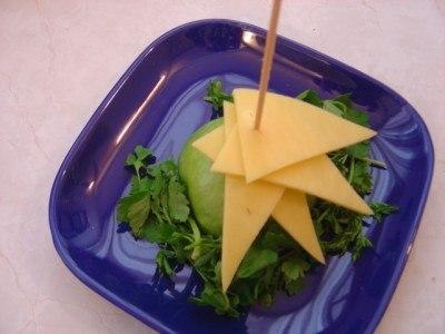 сырная елочка