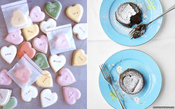 блюда на день святого валентина