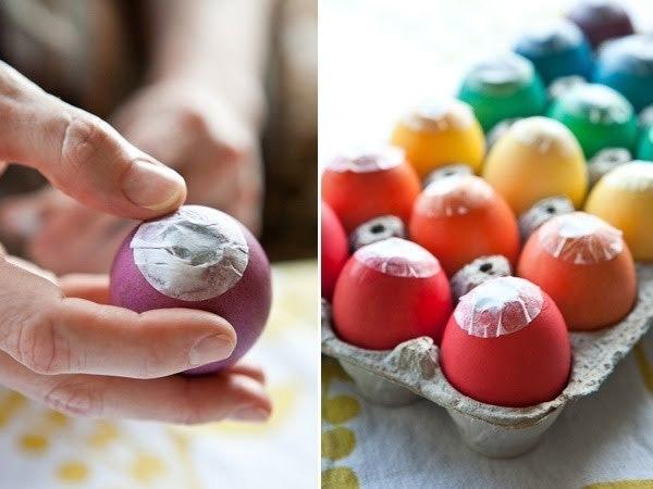 яйца с конфетти