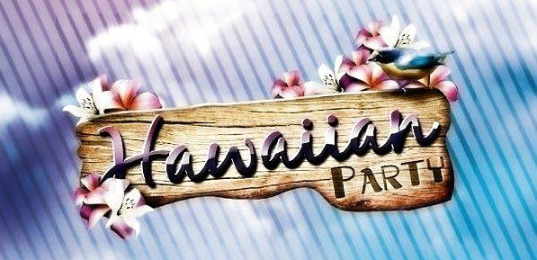 приглашение на гавайскую вечеринку