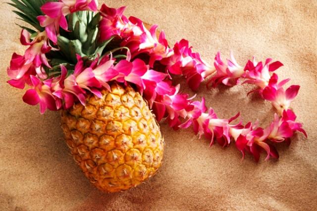 атрибуты для гавайской вечеринки