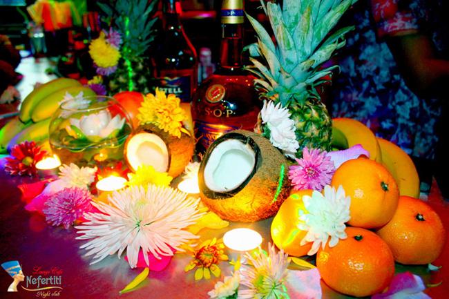 оформление гавайской вечеринки