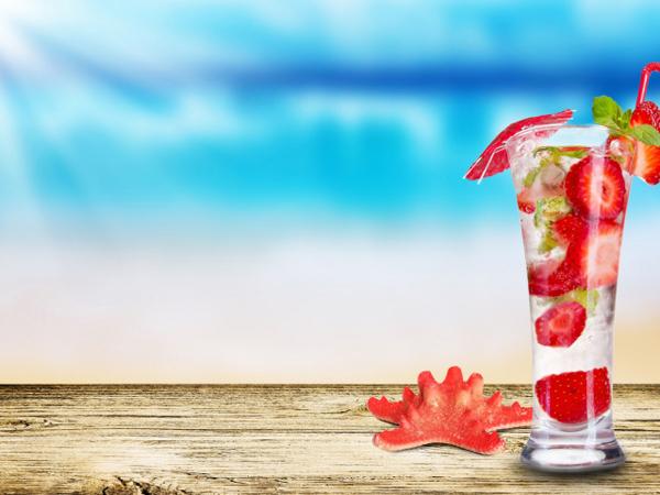 гавайская вечеринка коктейли