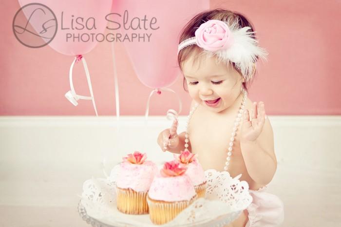 Фотосессия на первый День Рождения