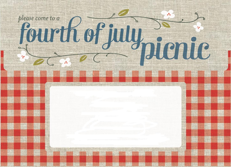 приглашение на пикник