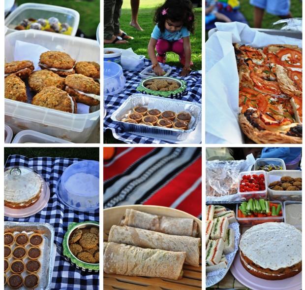 список продуктов для пикника