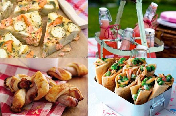 продукты для пикника