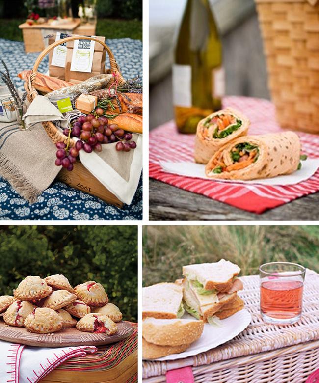 что брать на пикник из еды