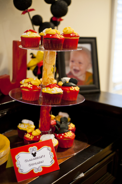 Первый День Рождения в стиле Микки Мауса