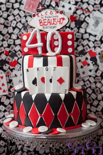 Вечеринка в стиле казино в честь 40-летия
