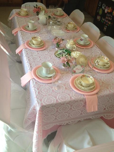"""""""Чаепитие в саду"""": День Рождения для девочки на свежем воздухе"""