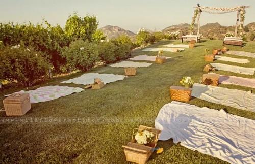 оформление пикника