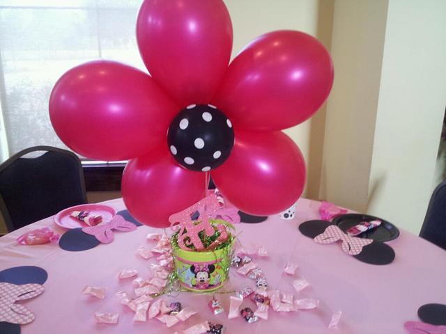 Первый День Рождения в стиле Минни Маус