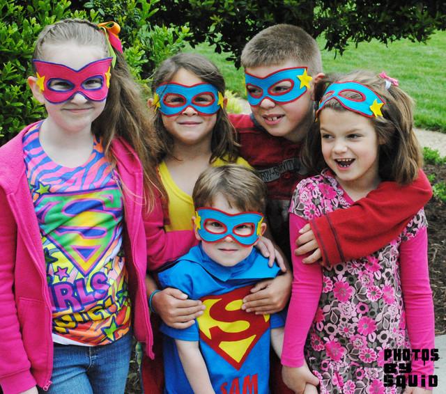 день рождения супергероев