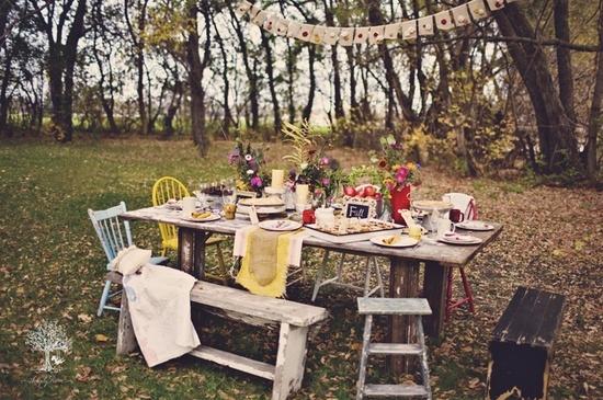 пикник осенью