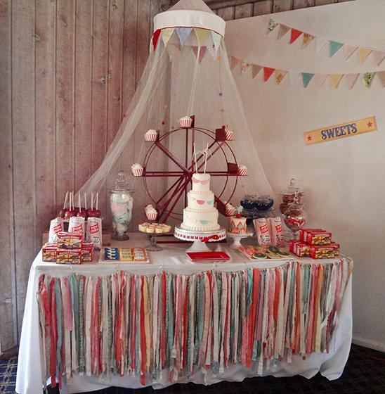 """""""Цирк"""": Первый День Рождения в винтажном стиле"""