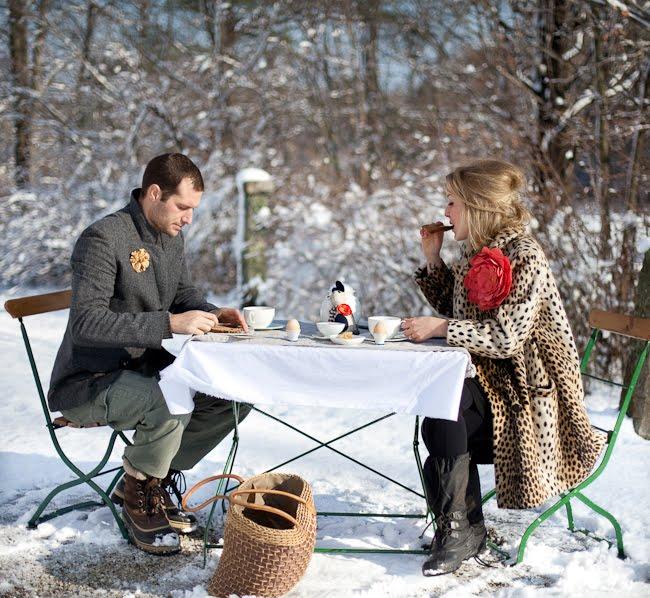 Зимний пикник