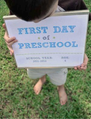 Первый раз в первый класс: идеи для фото