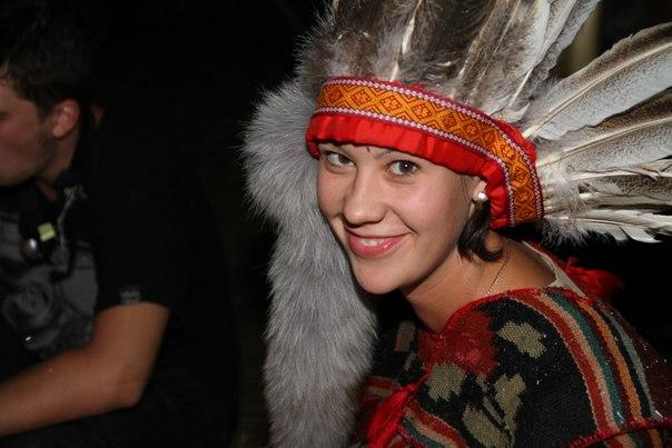 вечеринка индейцев