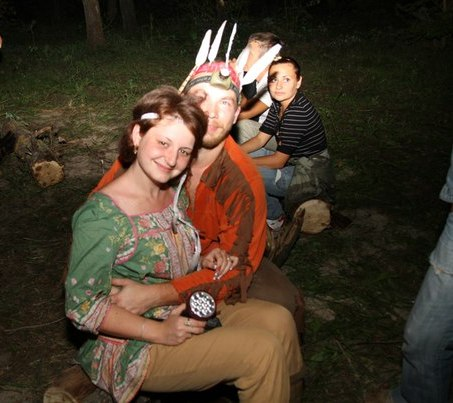 тематическая вечеринка индейцы