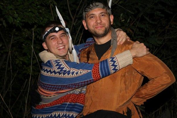 вечеринка в стиле индейцев