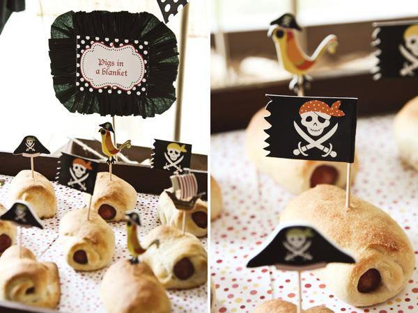день рождения на тему пираты