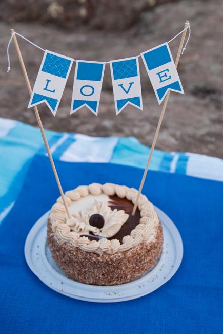 Пикник в честь первой годовщины свадьбы