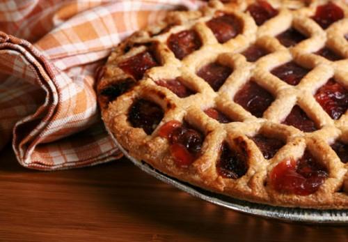 Пирог с фруктовой начинкой