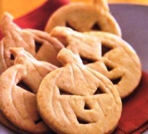 Печенья-тыковки на Хэллоуин