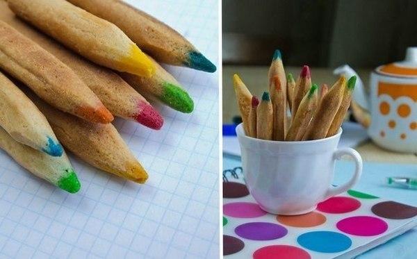 """Печенье """"Цветные карандаши"""""""