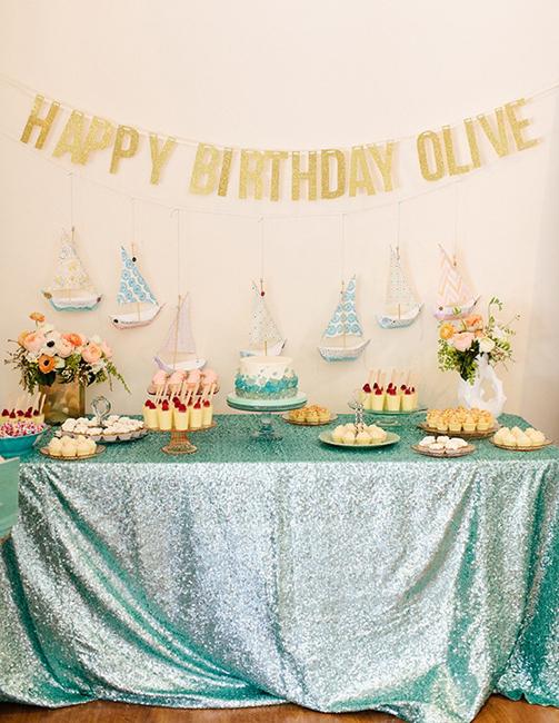 празднование дня рождения 1 год