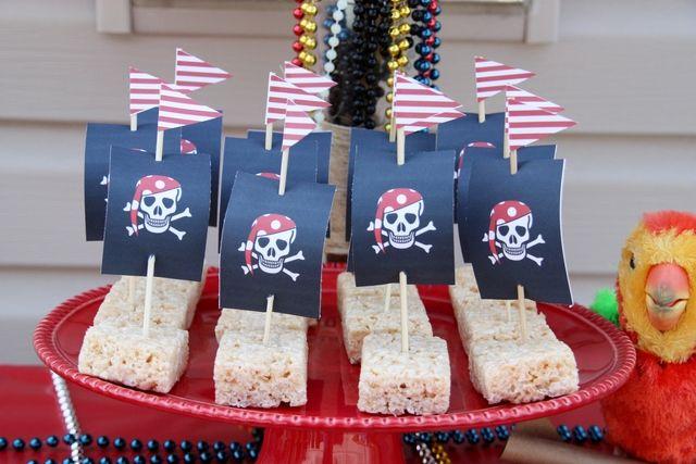 блюда для пиратской вечеринки
