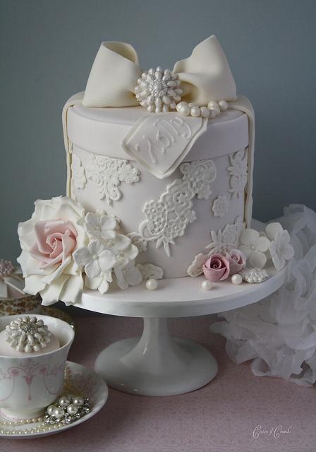 торт на ситцевую свадьбу