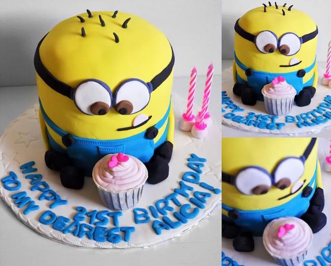 детский торт миньон