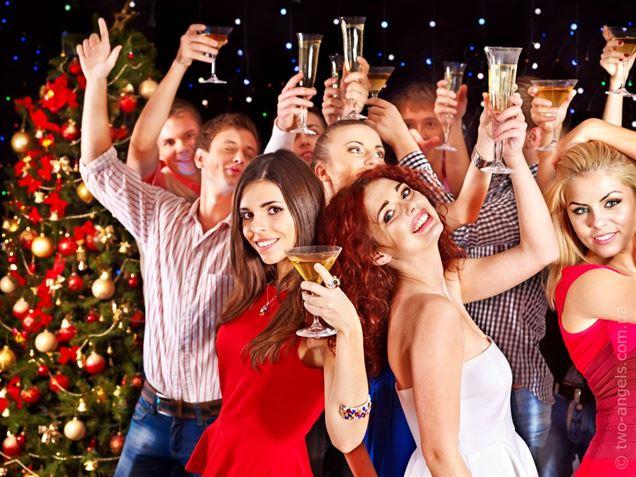 Тематические вечеринки на Новый год