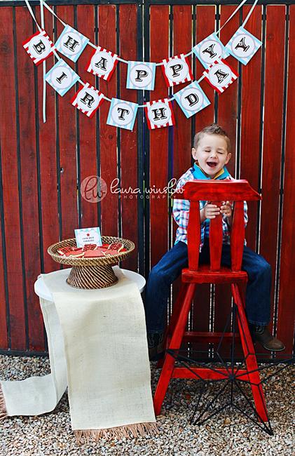 детский ковбойский день рождения