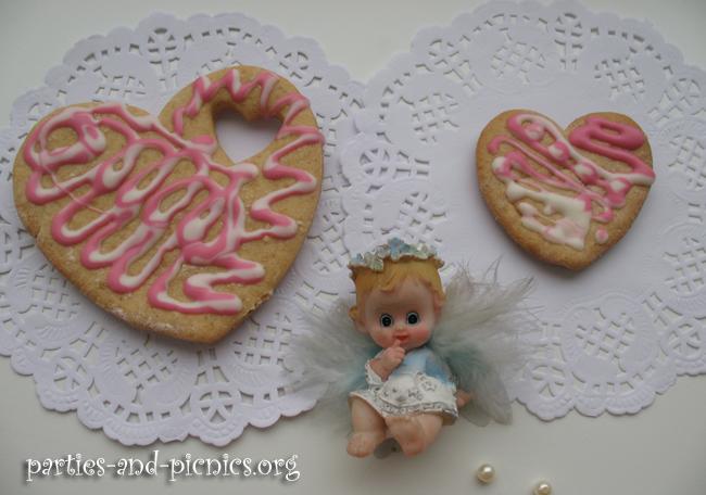 """Печенье """"Сердечки"""" с пряностями и медом"""