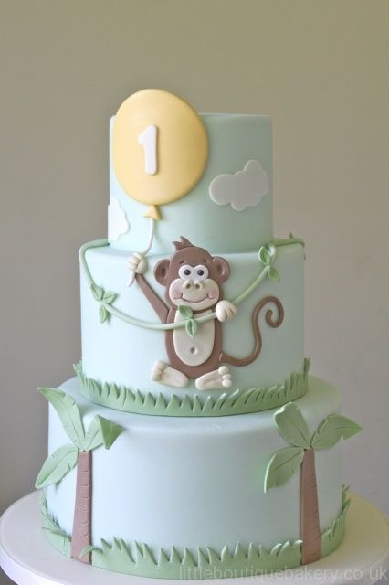 детский торт на 1 год