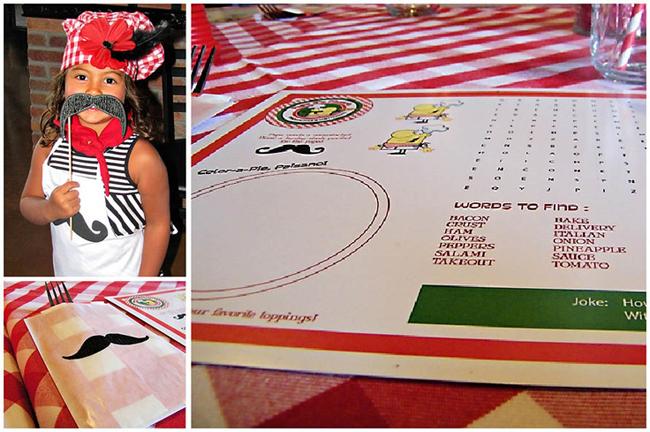 Детский праздник в итальянском стиле