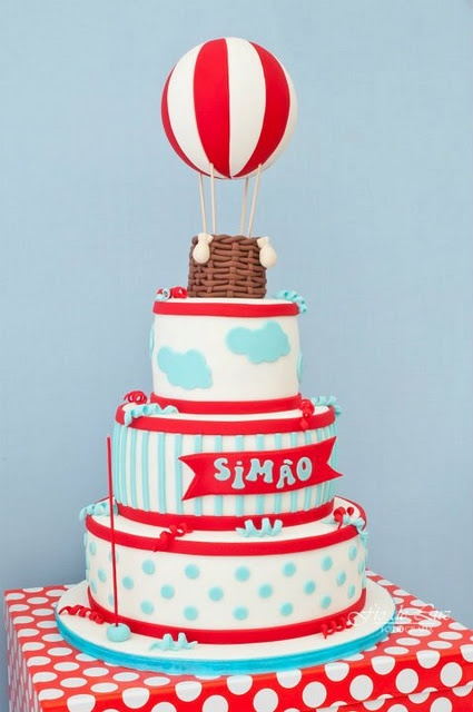 Детский День Рождения в стиле воздушного шара