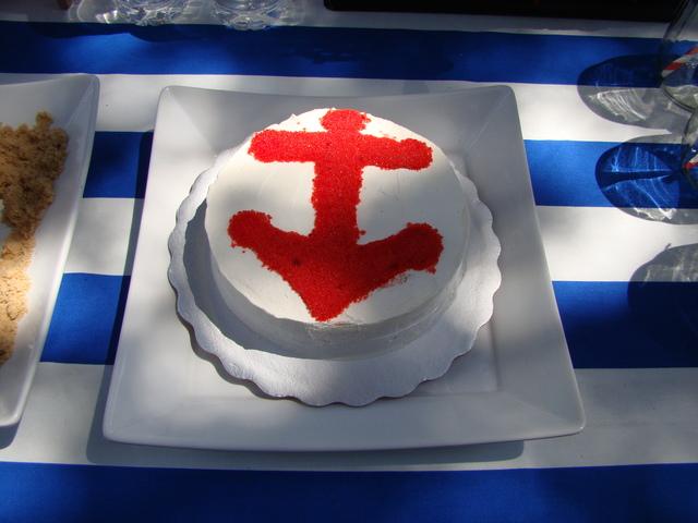 4-й День Рождения мальчика в морском стиле
