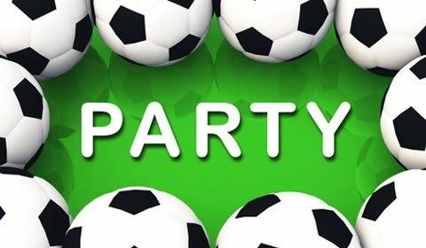 приглашение на футбольную вечеринку