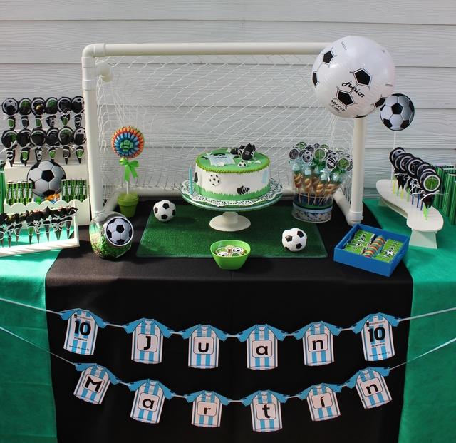Футбольный День рождения в честь 10-летия