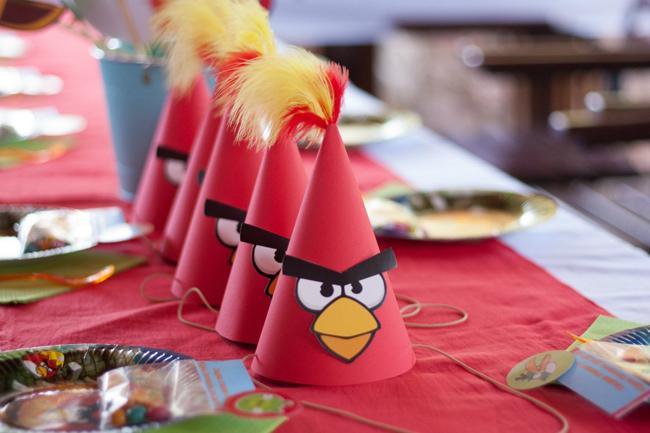 3-й День рождения в стиле Angry Birds